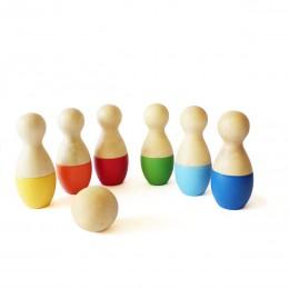 Mini Bowling Pins Set