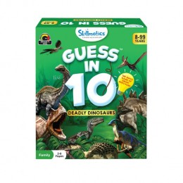 Guess in 10 – Deadly Dinosaurs | Card Game of Smart Questions