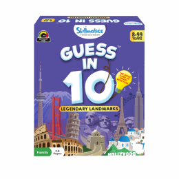 Guess in 10 – Legendary Landmarks | Card Game of Smart Questions