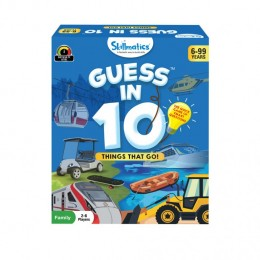 Guess in 10 – Things That Go! | Card Game of Smart Questions