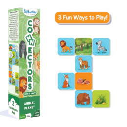 Connectors – Animal Planet | Tile Game of Smart Connections