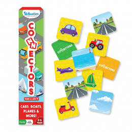 Connectors – Cars, Boats, Planes & More | Tile Game of Smart Connections