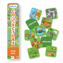 Connectors – Road Rush | Tile Game of Smart Connections