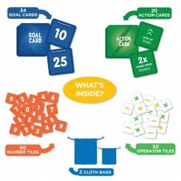 SQUIK – Math Edition | Fun & Fast Paced Board Game