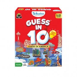 Guess in 10 – States of America | Card Game of Smart Questions