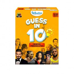 Guess in 10 – Famous Personalities | Card Game of Smart Questions