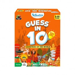 Guess in 10 – Countries of The World | Card Game of Smart Questions