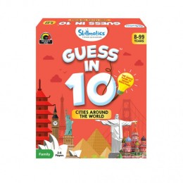 Guess in 10 – Cities Around The World | Card Game of Smart Questions