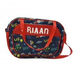 Space Print Diaper Bag