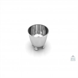 Sterling Silver Duck Baby Cup