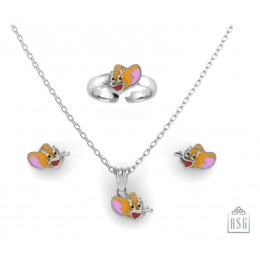 Sterling Silver Jerry Baby Jewellery Set