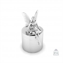 Sterling Silver Tooth Fairy Keepsake Baby Box