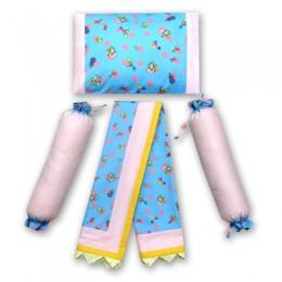 Toys and Rattles- Blue Dohar set