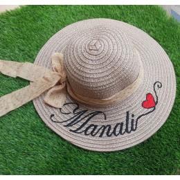 Tropical Sun Hat - Heart
