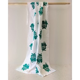 WRAP - Light Bath Towel : Finn Green