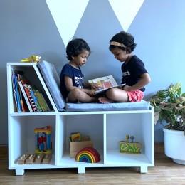 Book Nook Storage Bench