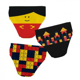 Building Blocks - Boy Underwear