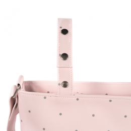 Chelsea Pink Small Diaper Changing Bag