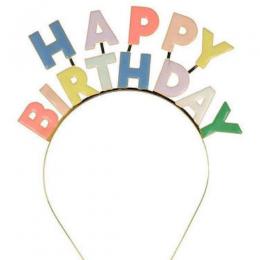 Enamel Birthday Headband
