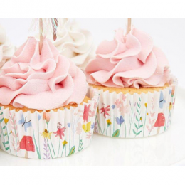 Fairy Cupcake Kit Set Of 24 Toppers