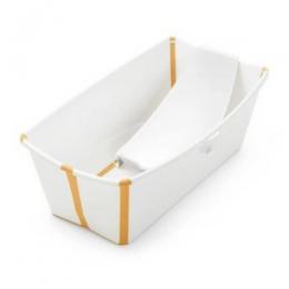 Flexi Bath Tub Bundle Pack - White Yellow