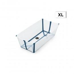 Flexi Bath Tub XL - Transparent Blue