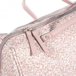 Flower Mellow Pink Diaper Changing Bag