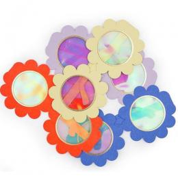 Flower Paper Glasses Set of 12