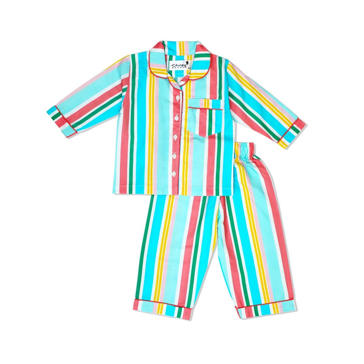 Fun stripes Nightsuit
