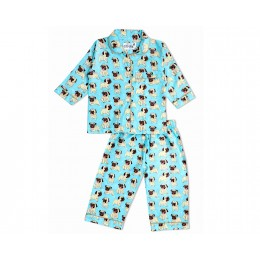 Funny Pugs Puppies Nightsuit