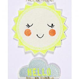 Hello Sunshine Patches Set of 2