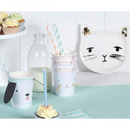 Kitty Cat Party Cups Set of 12