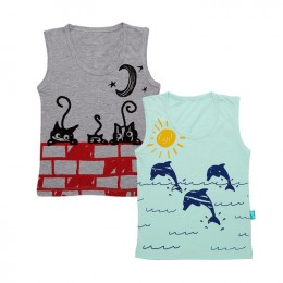 Leap And Prowl - Boy Vests
