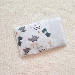 Organic Baby Rai Pillow -  Dino