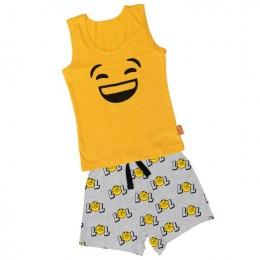 Lol -  Boy Vest And Boxer Shorts