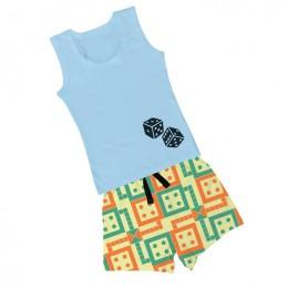 Ludo - Boy Vest  Boxer Shorts
