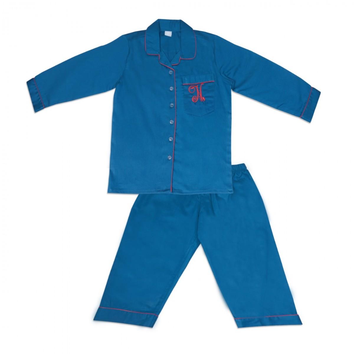 Navy Blue Nightsuit