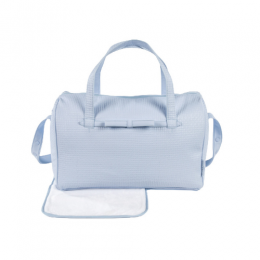 Nido Blue Diaper Changing Bag