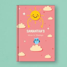 Personalised Notebook - Sun