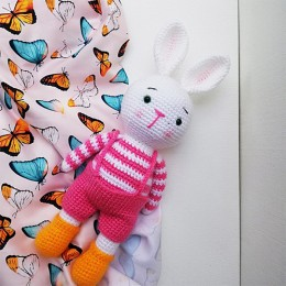 Pink Bunny Boy