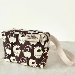POCKET - Oddling White Hand-Printed 100% Cotton Kids Waist Bag