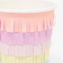 Rainbow Sun Cups Set of 8