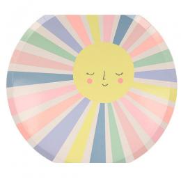 Rainbow Sun Dinner Plates Set of 12