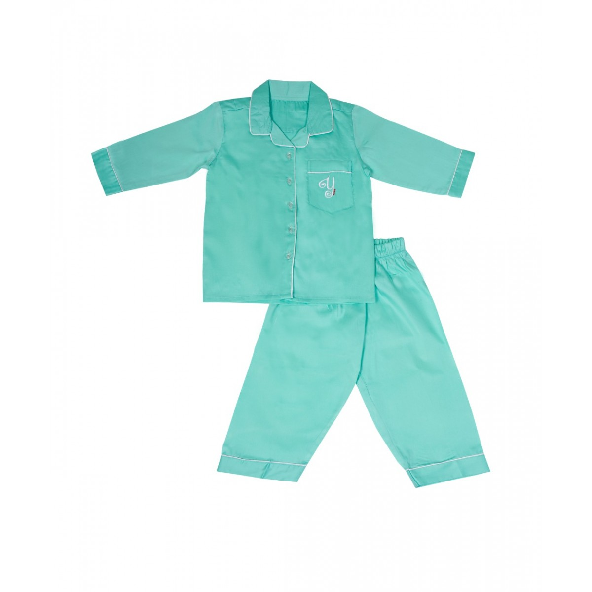 Turquoise Blue Nightsuit