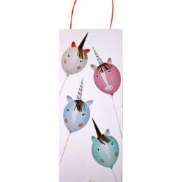 Unicorn Balloon Kit Set of 4
