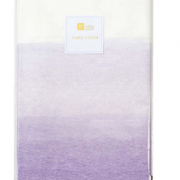 We Heart Lilac Table Cover