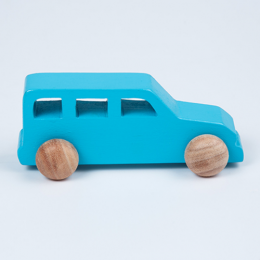 Wooden Jeep