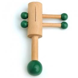 Wooden Rattle - Piston