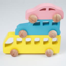 Wooden Vehicle Set