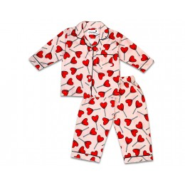 Candy hearts Nightsuit - Kids